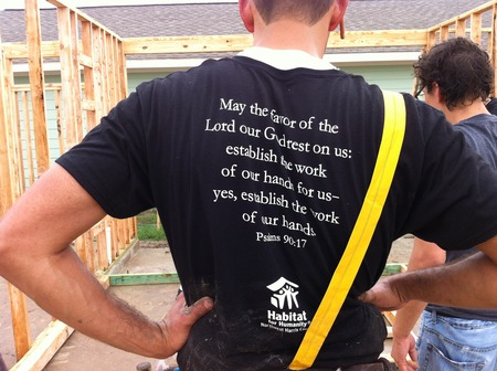 Alta Mesa Habitat Build Day T-Shirt Photo