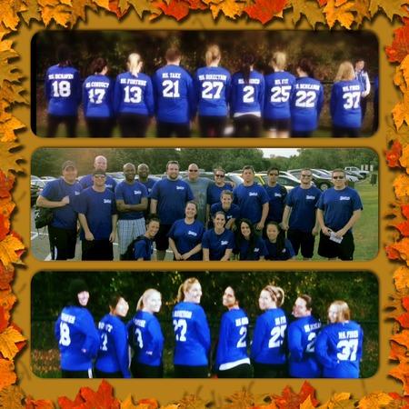 Fall Kickball Team!  Best Shirts Ever! T-Shirt Photo