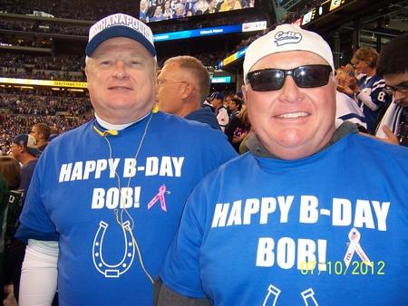 John And Brian At The Game T-Shirt Photo
