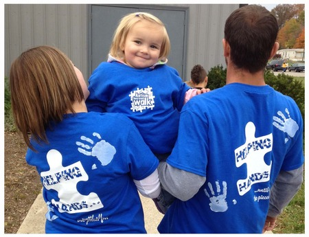 Autism Walk 2012 T-Shirt Photo