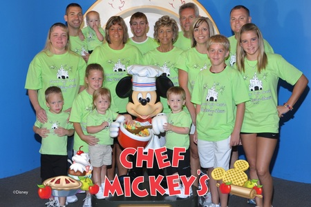 Breakfast With Mickey Mouse T-Shirt Photo