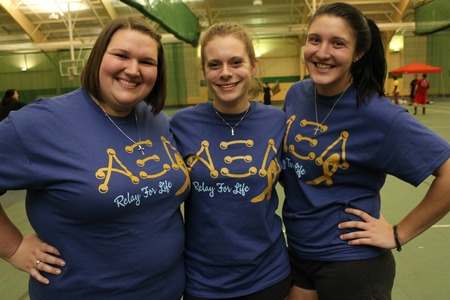 Alpha Xi Delta Relays For A Cure! T-Shirt Photo