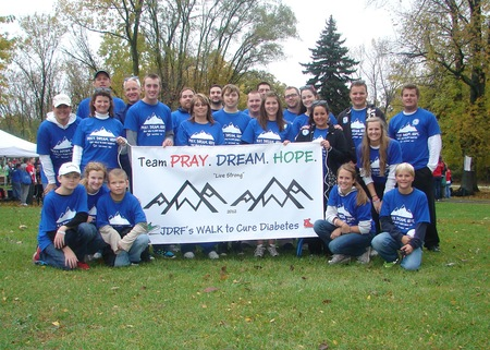 Jdrf Walk To Cure Diabetes 2012 T-Shirt Photo
