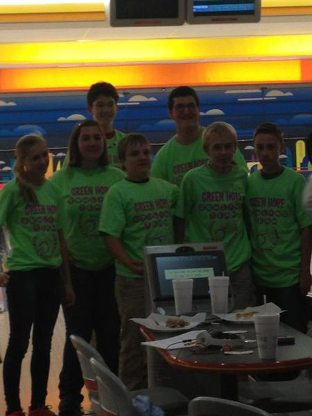 Green Hope Bowling Team T-Shirt Photo