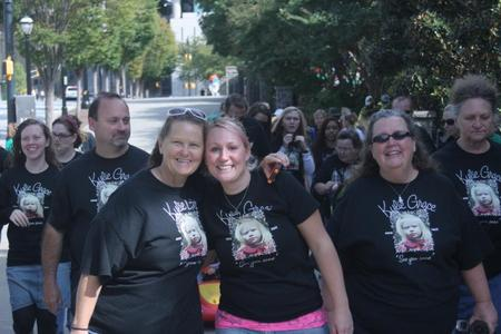 Kylie's Buddy Walk T-Shirt Photo