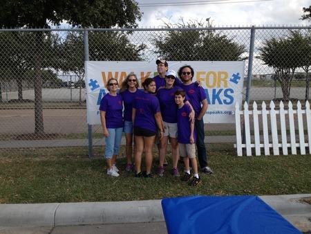 Houston Walk Now For Autism Speaks T-Shirt Photo
