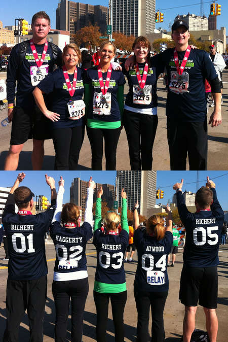 Special Tree 2012 Detroit Marathon Relay Team  T-Shirt Photo