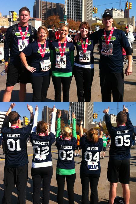 Special Tree 2012 Detroit Marathon Relay Team  T-Shirt Photo