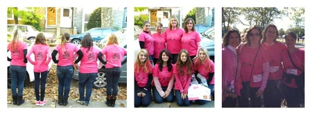 Queens Pink Panthers   Making Strides T-Shirt Photo