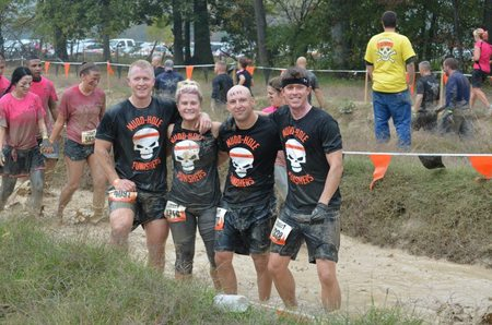 Mudd Hole Punishers @ Tough Mudder 10 13 12 T-Shirt Photo