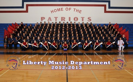 Liberty Middle School Music Department 2012 T-Shirt Photo