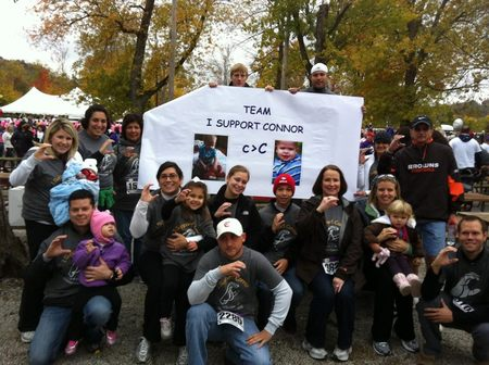 Team I Support Connor At Cinncinnati Walks For Kids T-Shirt Photo