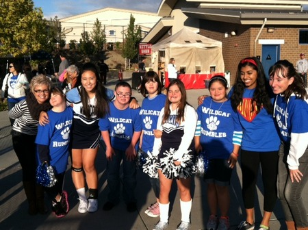 Introducing The 2012 2013 Wildcat Rumbles Special Education Cheer Club! T-Shirt Photo