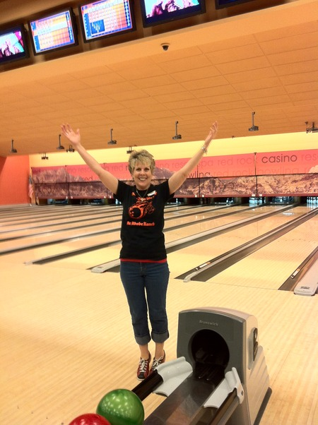 Bobbie Bowling In Her Custom Ink Shirt T-Shirt Photo