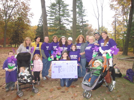 Memory Walk In Honor Of Our Papa  T-Shirt Photo