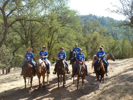 Riders Of The Bbes At Camanche Lake T-Shirt Photo
