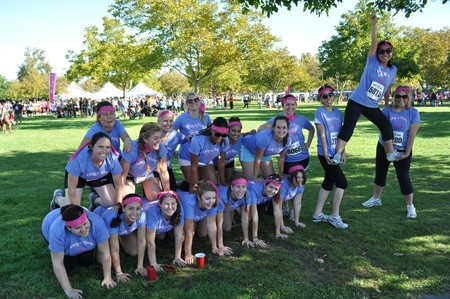 Dirty & Flirty Mud Run Team Spirit!  T-Shirt Photo