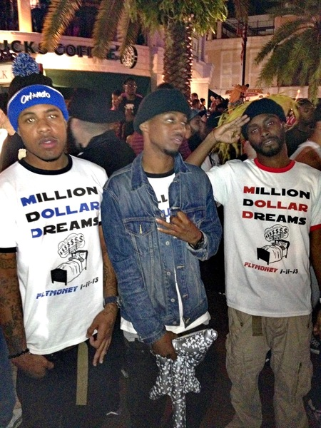 Million Dollar Dreams T-Shirt Photo