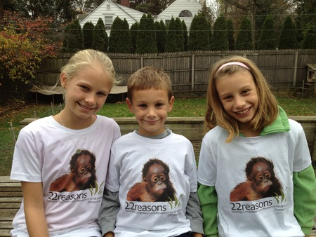 Helping Orangutans T-Shirt Photo