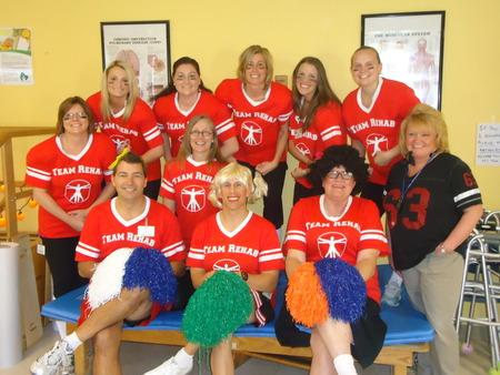 Highland Healthcare Rehab Team T-Shirt Photo