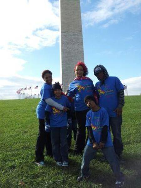 Autism Speaks..Team Trevon Simon T-Shirt Photo