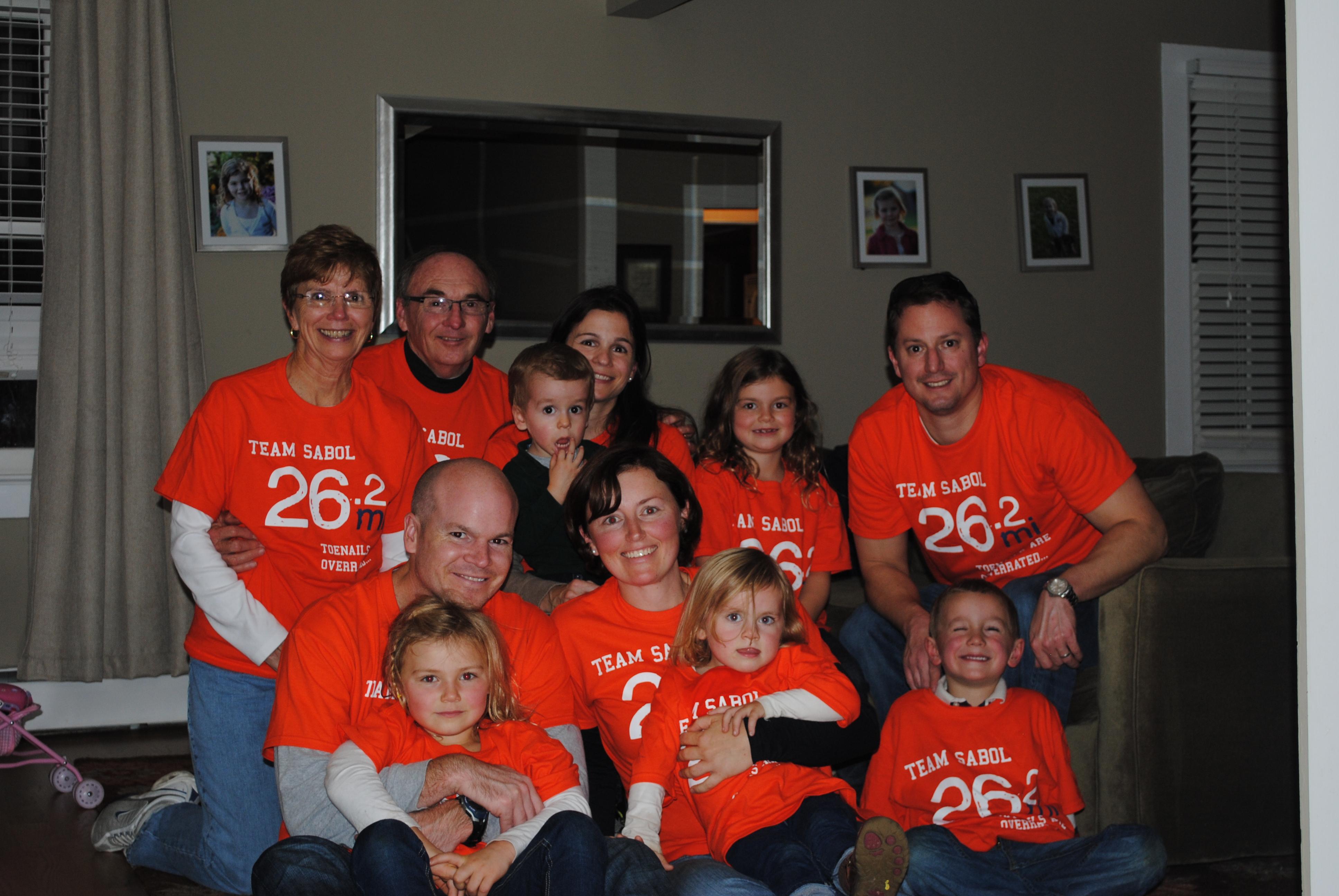 T shirt design help - Marathon Family T Shirt Photo