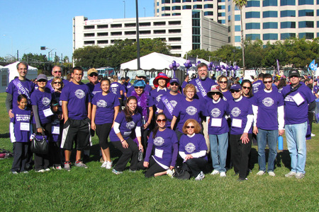 Purple Stride 5 K   Team Swg T-Shirt Photo