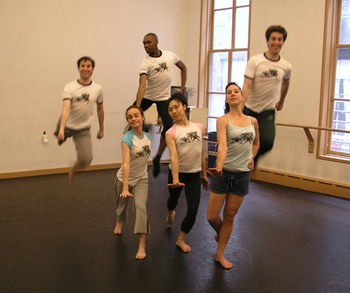 Jumping Dancers T-Shirt Photo