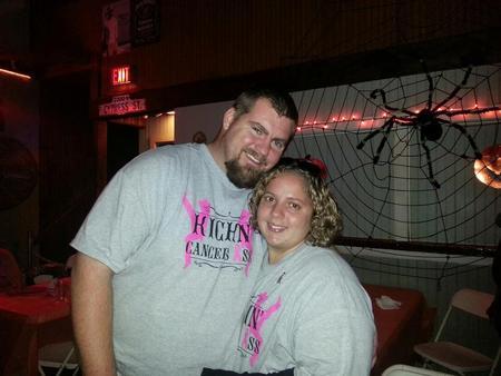 Kickin' Cancer's Ass!!! T-Shirt Photo
