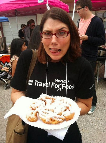 Ermehrgerd Vegan Funnel Cake!  T-Shirt Photo