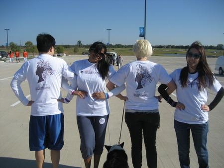 2012 Walk To End Alzheimer's!  T-Shirt Photo