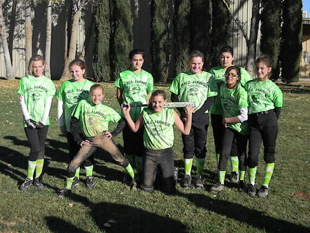 Girls Softball T-Shirt Photo