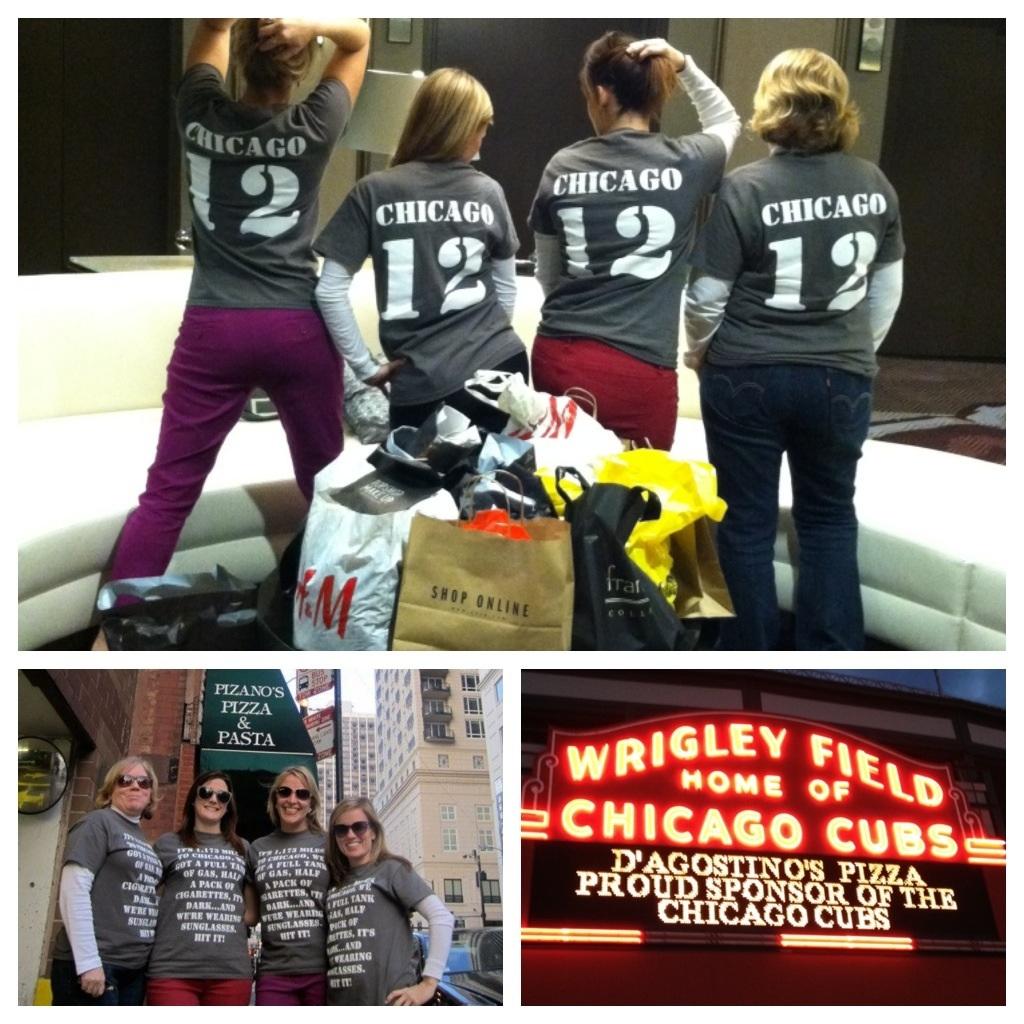 Design your own t shirt chicago - Girls Trip Chicago 2012 T Shirt Photo