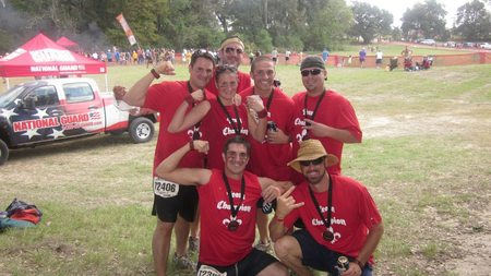 Team Champion Warrior Dash 2012 T-Shirt Photo