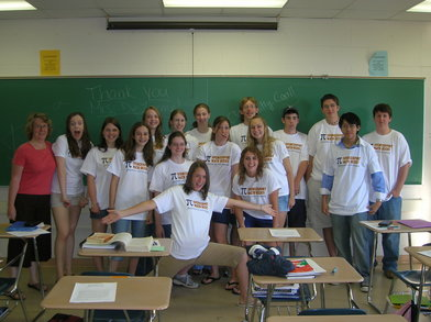 Spencerport Math Geeks T-Shirt Photo