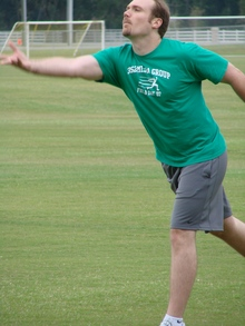 Textbook Form For The Water Balloon Toss T-Shirt Photo