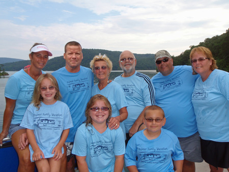 Palmer Family Vacation   Raystown Lake, Pa T-Shirt Photo