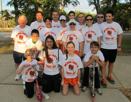 Mallinger Family Turkey Trot T-Shirt Photo