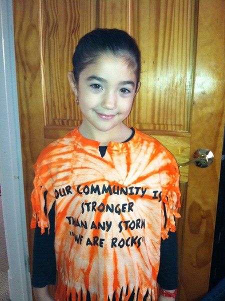 Community Shirt For Sandy Victims T-Shirt Photo