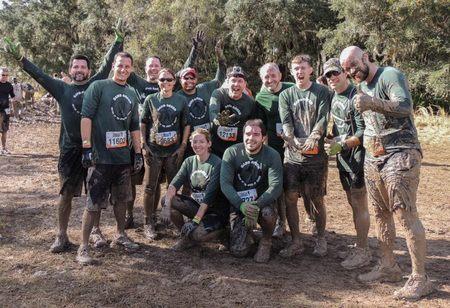Gang Green Tough Mudders T-Shirt Photo