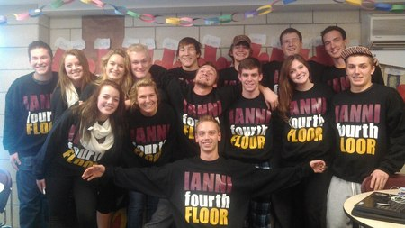 Ianni Forth Floor Is The Best Floor At Umd:)  T-Shirt Photo