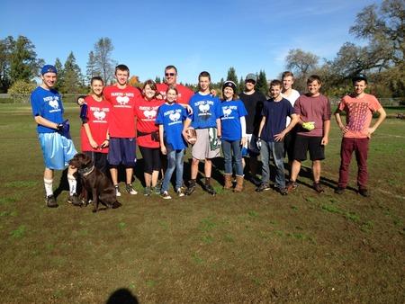 The Pankow Davis Thanksgiving Throwdown 2012 T-Shirt Photo