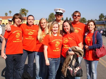 Graduation Day At Marine Corps' Boot Camp T-Shirt Photo
