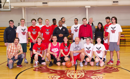 Wakefield School Alumni At The Silver Bucket Basketball Game, The Plains, 2012 T-Shirt Photo