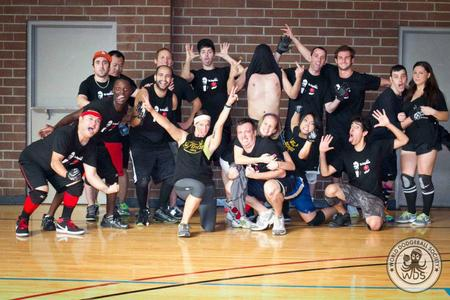 Dodgeballers By Day. Clowns By Night. T-Shirt Photo