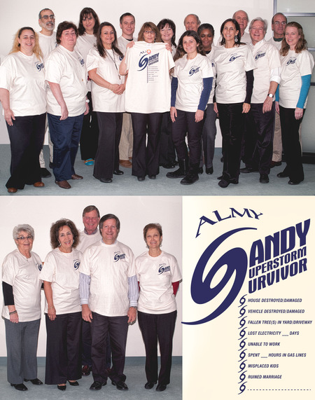 Almy Sandy Survivors T-Shirt Photo