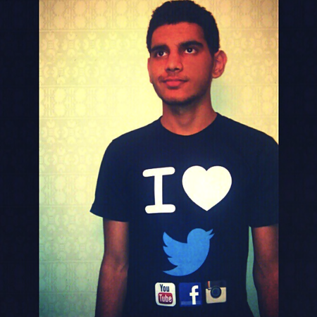 I Love Social Networking T-Shirt Photo