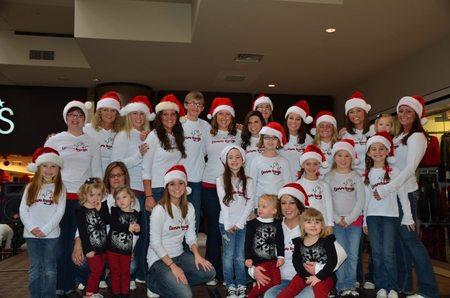 Christmas At The Mall! T-Shirt Photo