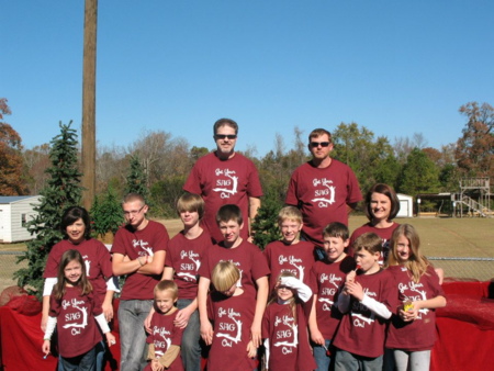 2012 Christmas Parade  T-Shirt Photo