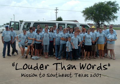 Louder Than Words T-Shirt Photo